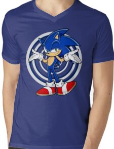 SONIC : WHAT YOUR PROBLEM? Mens V-Neck T-Shirt