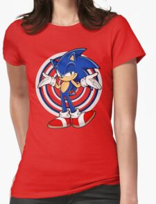 SONIC : WHAT YOUR PROBLEM? Womens Fitted T-Shirt