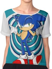SONIC : WHAT YOUR PROBLEM? Chiffon Top