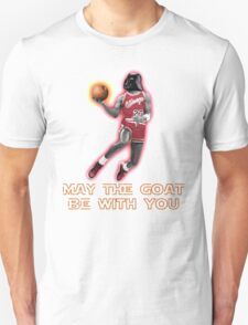 May The GOAT Be With You! T-Shirt