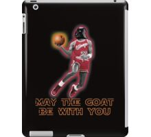 May The GOAT Be With You! iPad Case/Skin