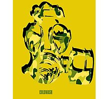 CAMMO GAS MASK Photographic Print