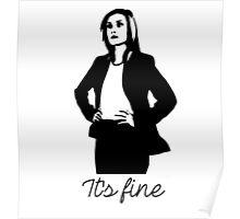 Delphine Cormier - It's Fine Poster
