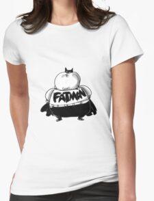 FatMan Womens Fitted T-Shirt