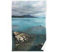 Lake Pukaki, New Zealand Poster