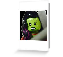 The Green warrior Greeting Card
