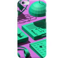 Low Poly Studio Objects 3D Illustration iPhone Case/Skin