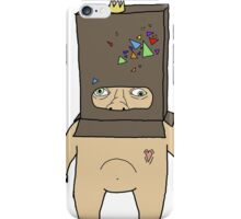 Cereal Box Head iPhone Case/Skin
