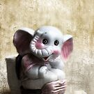 Happy Elephant 001 by kevin chippindall
