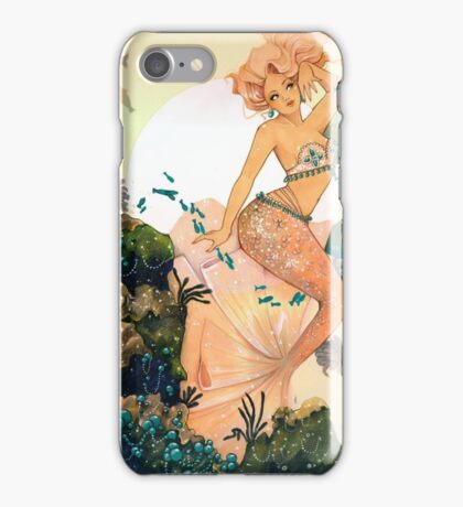 Rose Mermaid iPhone Case/Skin