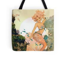 Rose Mermaid Tote Bag