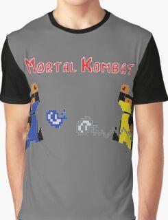 Retro Mortal Kombat Graphic T-Shirt