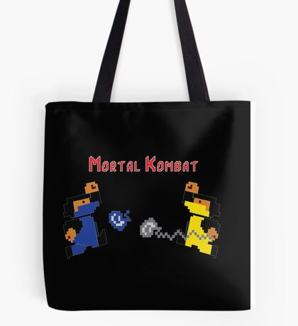 Retro Mortal Kombat Tote Bag