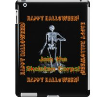 Join The Skeleton Corps iPad Case/Skin