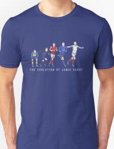 The Evolution of Jamie Vardy  T-Shirt