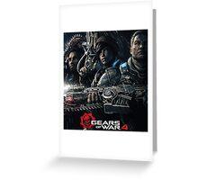 Gears of war 4 [4K] Greeting Card