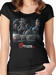 Gears of war 4 [4K] Women's Fitted Scoop T-Shirt