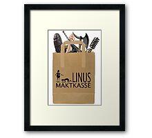 Linus Maktkasse Framed Print