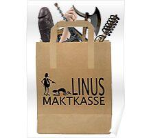 Linus Maktkasse Poster