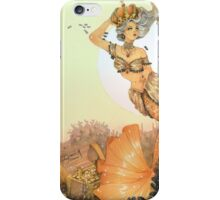 The queen mermaid iPhone Case/Skin