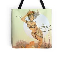 The queen mermaid Tote Bag