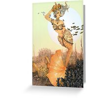 The queen mermaid Greeting Card