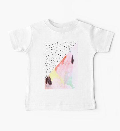 Polka Dots & Paint Baby Tee