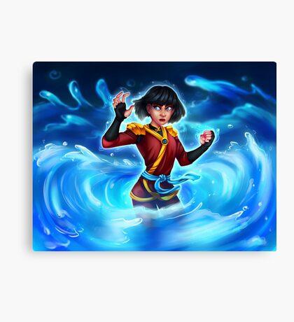 Water Ninja Canvas Print