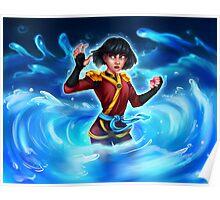 Water Ninja Poster