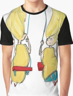 Twin Girls Graphic T-Shirt