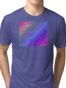 Color in Abstract Tri-blend T-Shirt