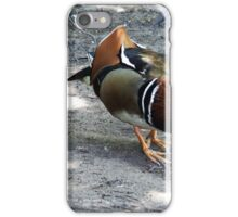 """ Walking through the woods, came across this chap"" iPhone Case/Skin"