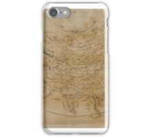 NORTH AMERICA; ASIA; AFRICA; EUROPE. PRINTING PRESS JAREEDAT AL HAWADITH IN THE YEAR AH iPhone Case/Skin
