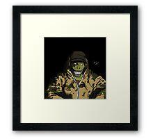 O.G. Croc Framed Print