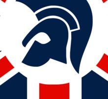 TROJAN RECORD : BRITISH 4 Sticker