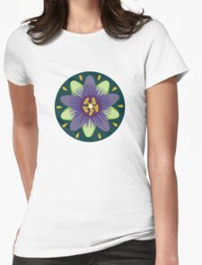 Passionflower Womens Fitted T-Shirt