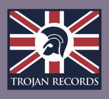 TROJAN RECORD : BRITISH 4 Kids Tee