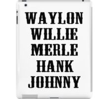 The Country Legend  iPad Case/Skin