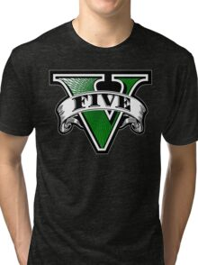 GTA 5Five Tri-blend T-Shirt