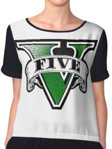 GTA 5Five Chiffon Top