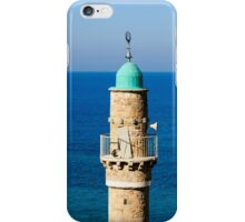 Turret of the El Baher mosque in old Jaffa iPhone Case/Skin