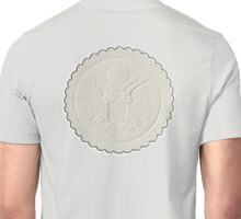 Great Seal, United States, America, American, Stamp, Seal, Emboss, approve Unisex T-Shirt