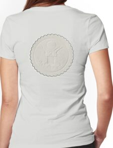 Great Seal, United States, America, American, Stamp, Seal, Emboss, approve Womens Fitted T-Shirt