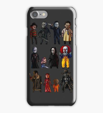 Icons of Horror iPhone Case/Skin