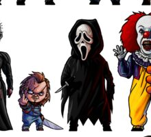 Icons of Horror Sticker