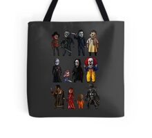 Icons of Horror Tote Bag