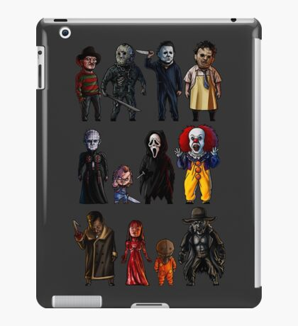 Icons of Horror iPad Case/Skin
