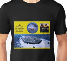 YELLOW SUBMARINE in the firmament Unisex T-Shirt