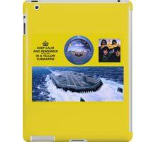 YELLOW SUBMARINE in the firmament iPad Case/Skin
