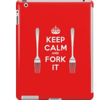 Keep Calm and Fork It! iPad Case/Skin